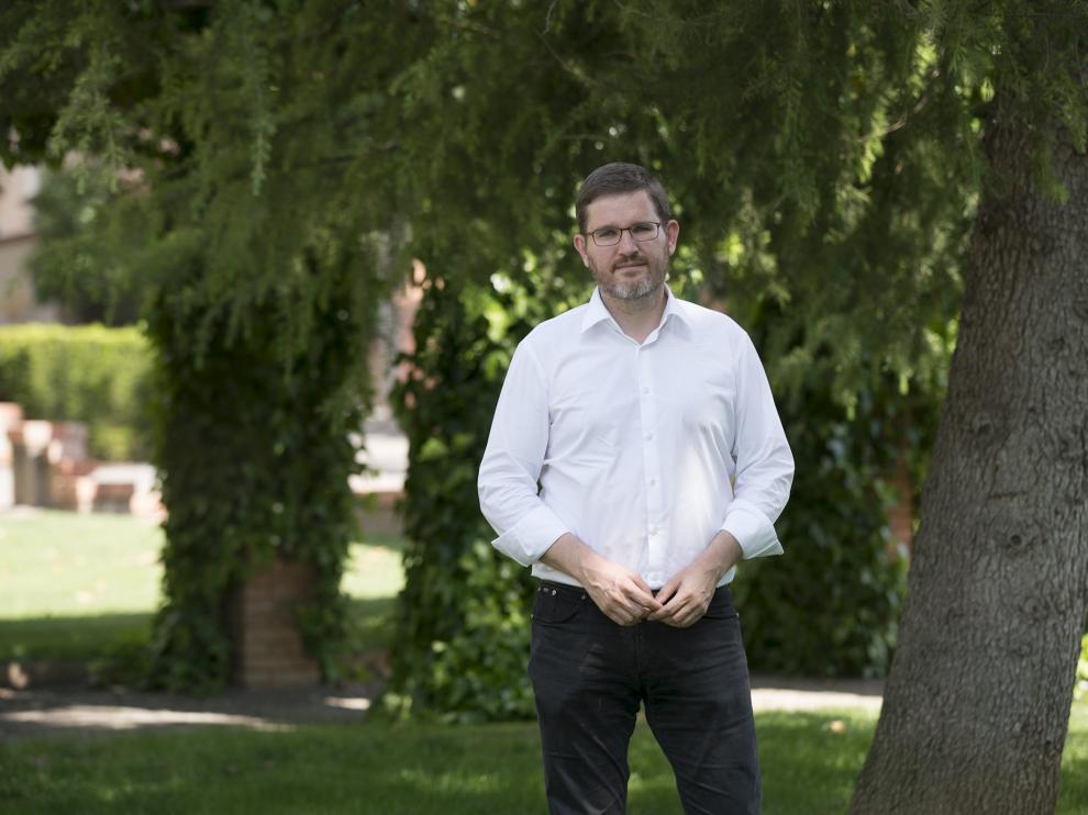 Ignacio Urquizu, candidato del psoe por Teruel al congreso de los diputados en las proximas elecciones. Foto Antonio Garcia/bykofoto. 08-06-16