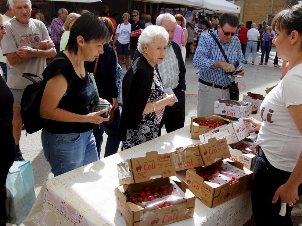 Fiesta de la cereza en Bolea /18-6-18 / Foto Pablo Segura [[[FOTOGRAFOS]]]