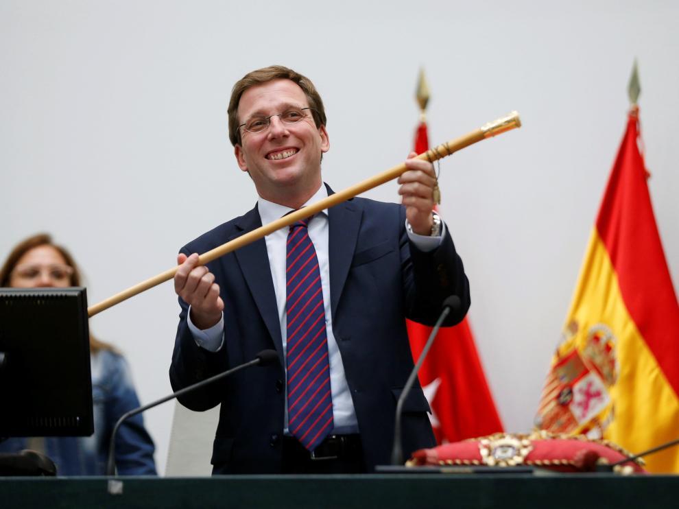 Almeida (PP), proclamado alcalde de Madrid.