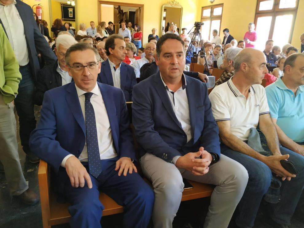 Beamonte, en la investidura de José Luis Arrechea como alcalde de Tarazona.