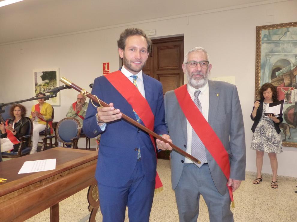 El joven abogado Isaac Claver es el nuevo alcalde de Monzón.