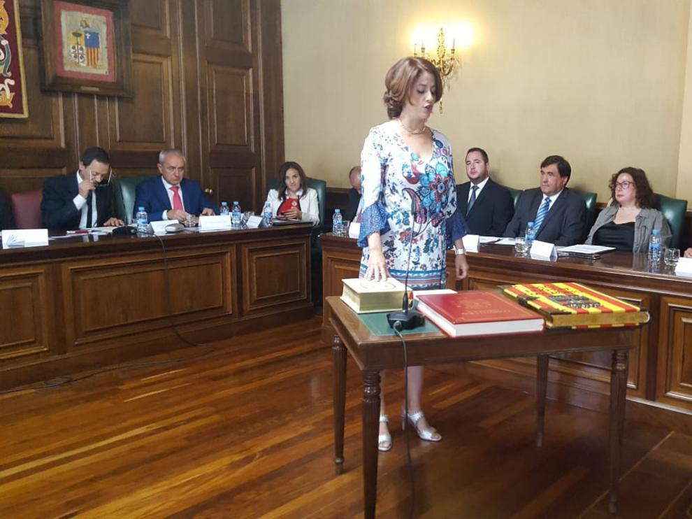 Emma Buj (PP), reelegida alcalde de Teruel con el apoyo de cs y Vox