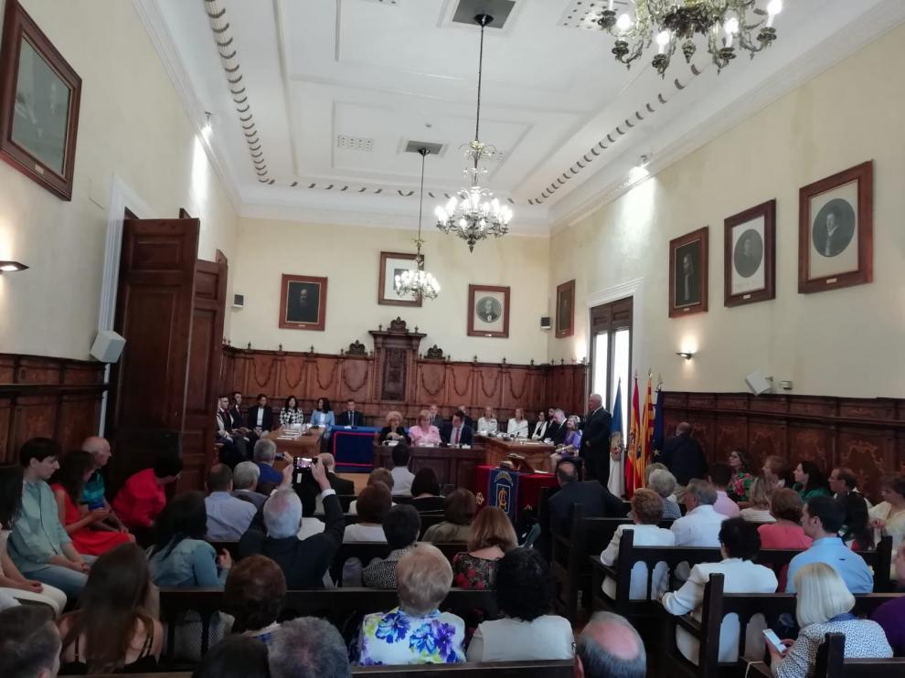Investidura en el Ayuntamiento de Calatayud.