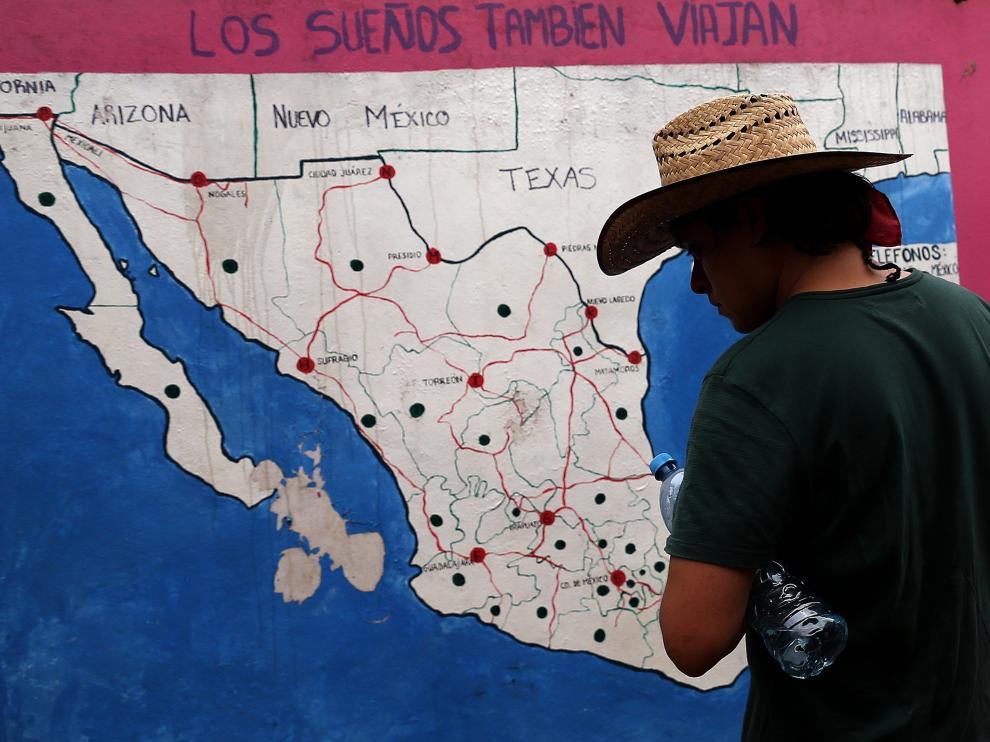 Detenidos casi 800 migrantes al sur de México.