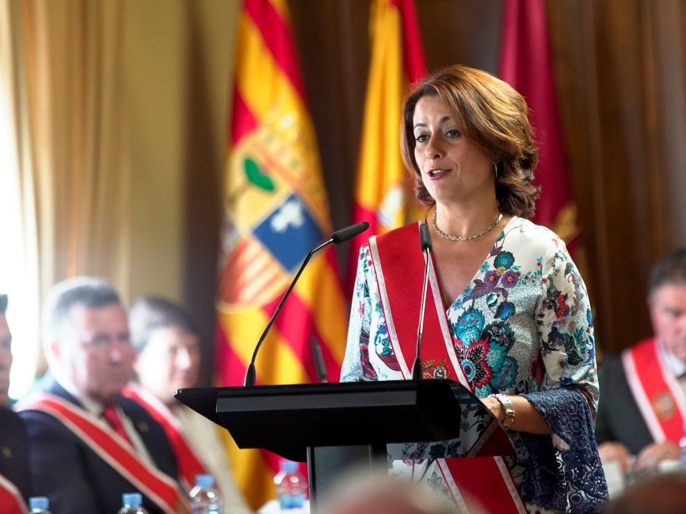 Emma Buj, alcaldesa de Teruel.