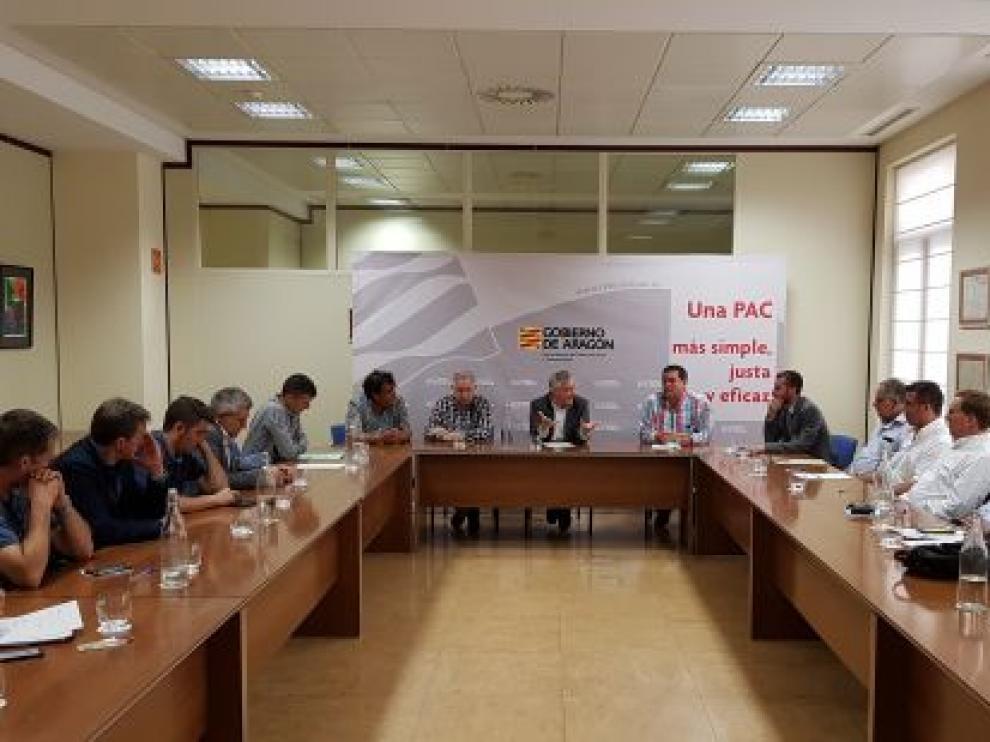 Reunión en la que se ha elegido la nueva junta directiva del Comité Aragonés de Agricultura Ecológica