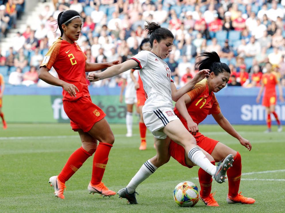 La selección femenina de fútbol de España, en octavos de final tras empatar con China