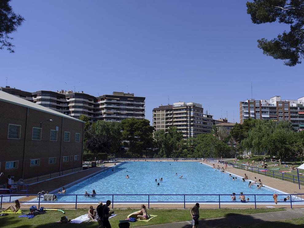 La piscina de Salduba, en la imagen, es una de las más antiguas de la capital aragonesa