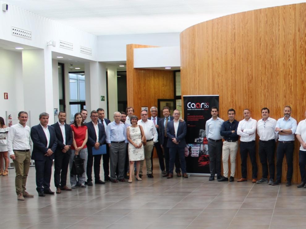 Los miembros del CAAR se reunieron este martes en Zaragoza.