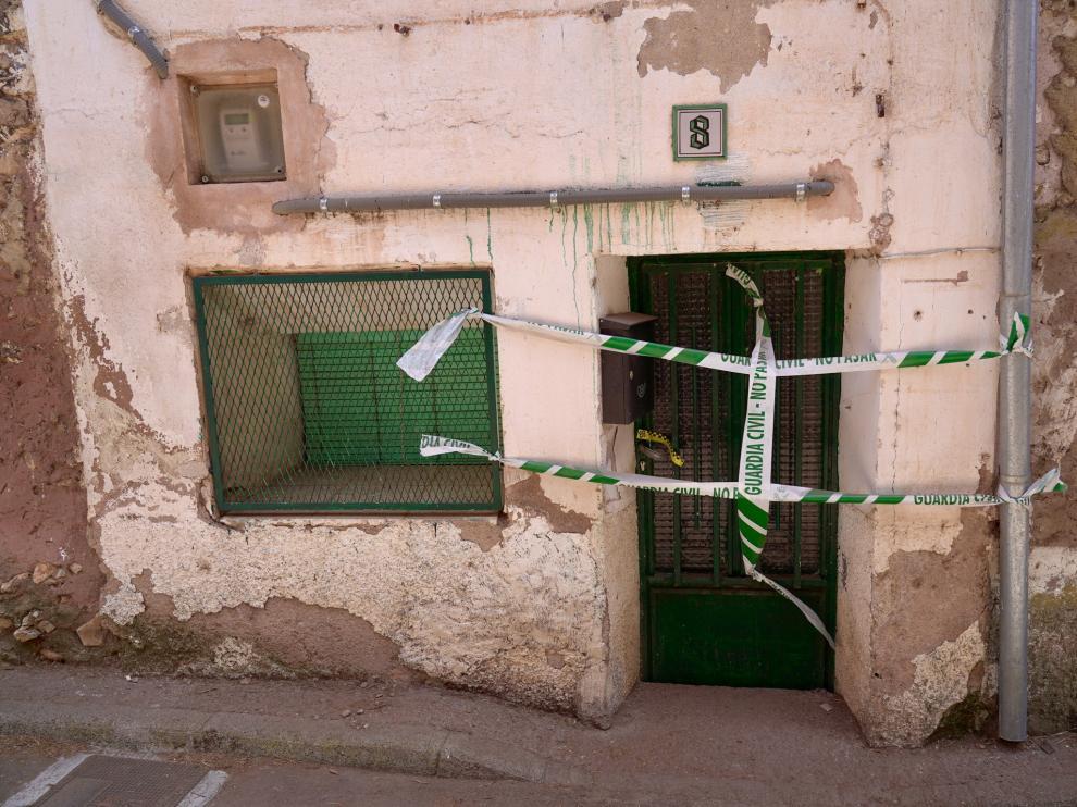 Casa de Pozondón donde ha aparecido el cadáver