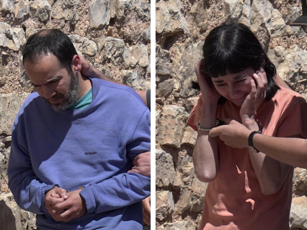 Los detenidos por el crimen en Pozondón