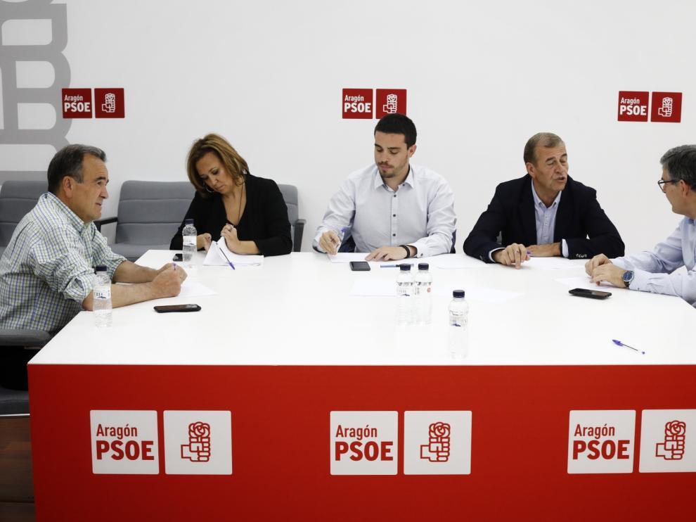 Comisión negociadora del PSOE