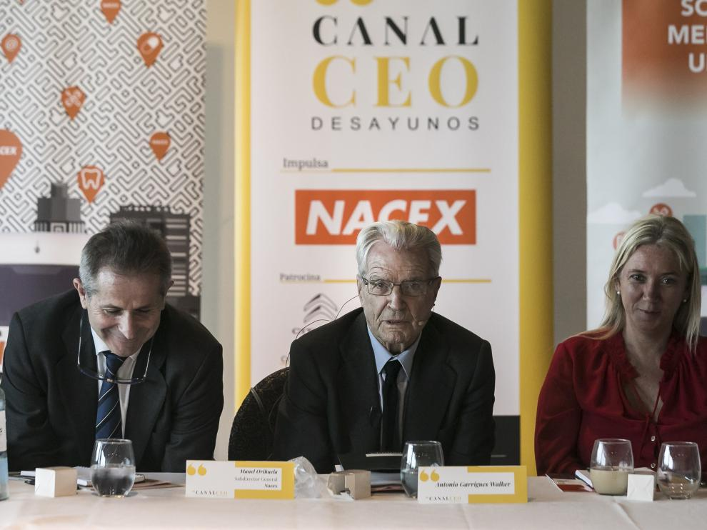 Foro celebrado ayer en Zaragoza.