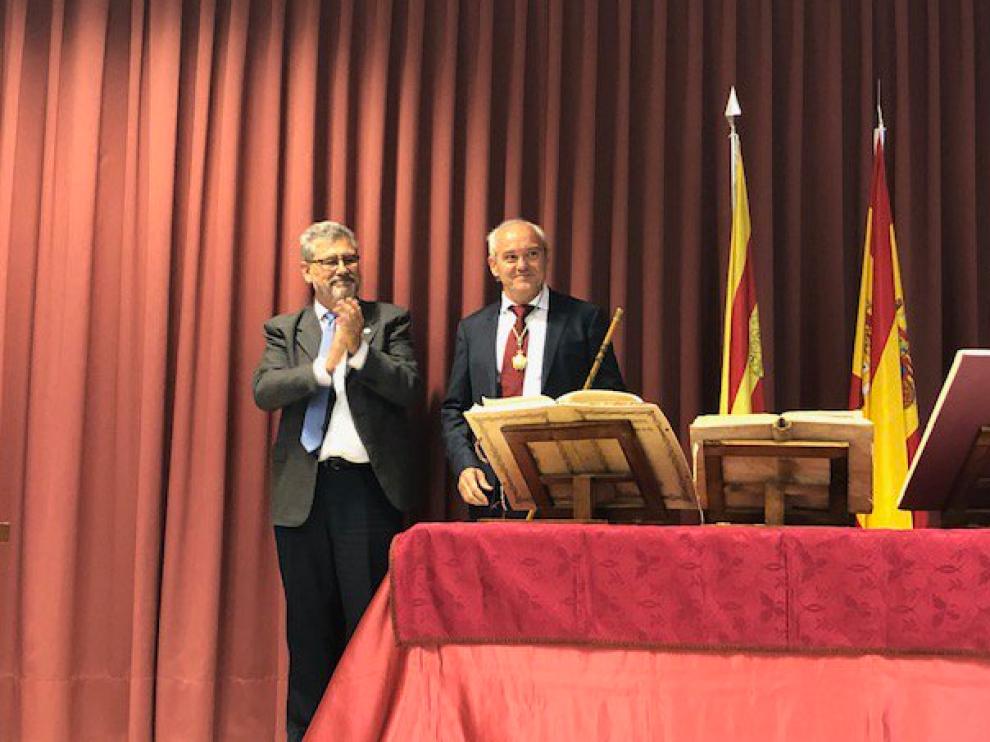 Manuel Gascón Pérez ha tomado este viernes por la mañana posesión como decano de la Facultad de Veterinaria.