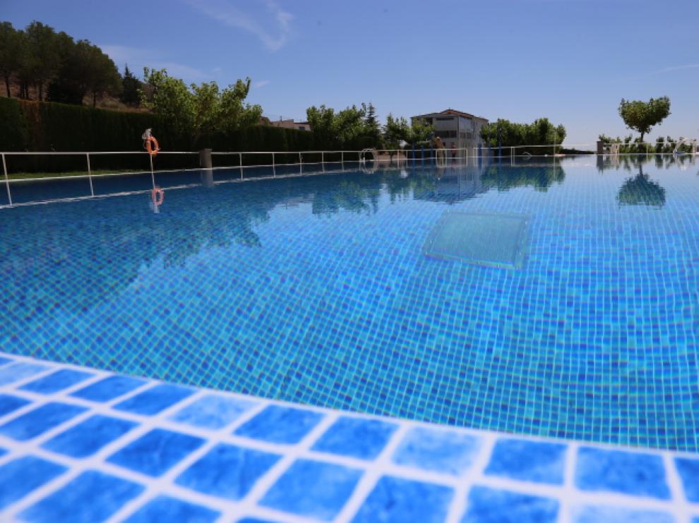 El vaso de baño grande las piscinas de Zaidín se estrena esta temporada.