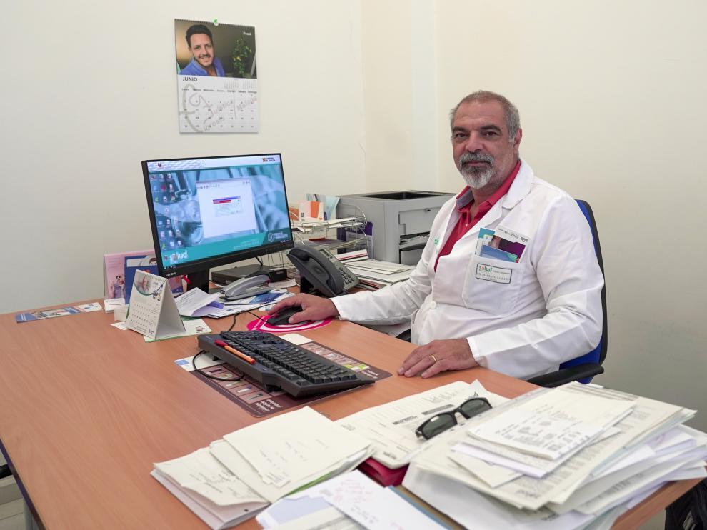 Mariano Lozano, medico del centro de salud ensanche de Teruel