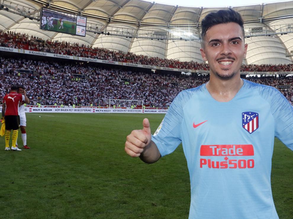 Joaquín Muñoz defenderá la camiseta azulgrana durante la campaña 2019-20.