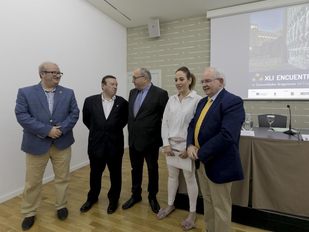 Presentación del Encuentro de Comunidades Aragonesas en el Exterior.