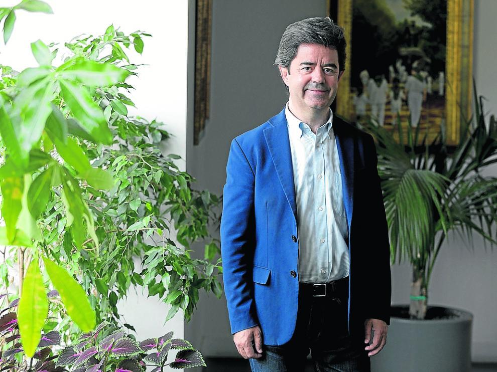 Luis Felipe (PSOE) Alcalde de Huesca /21.6.19/ Foto Rafael Gobantes [[[FOTOGRAFOS]]]