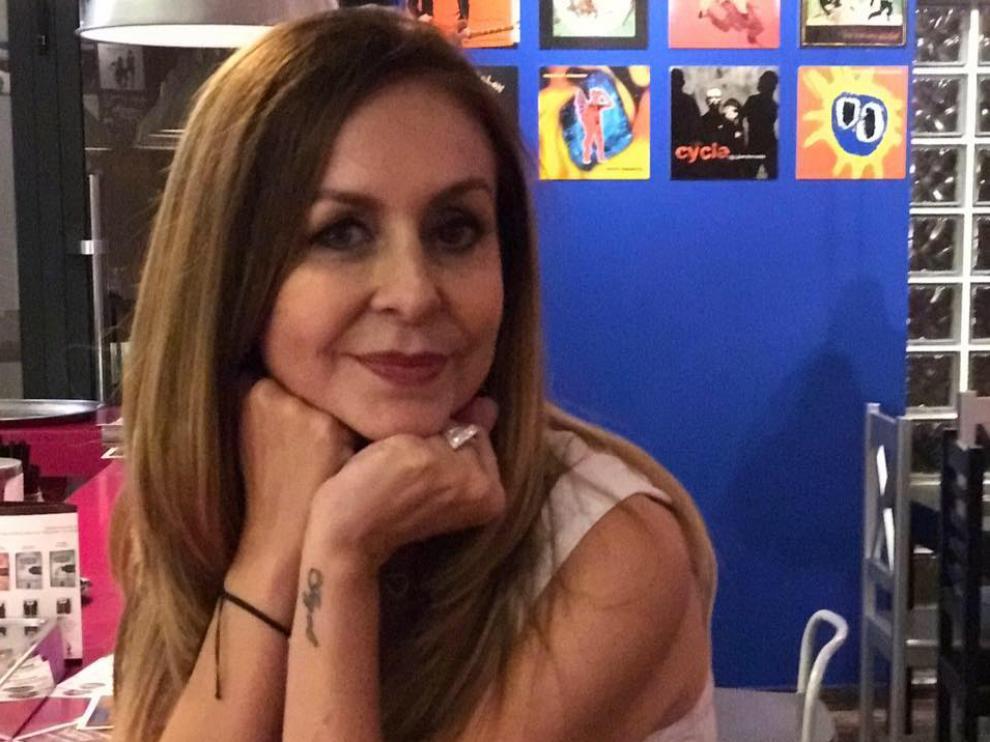 María García, periodista de Monzón, lleva 27 años en Estados Unidos.