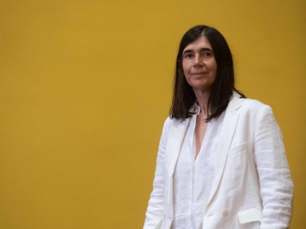 María Blasco, directora del CNIO, en el Paraninfo