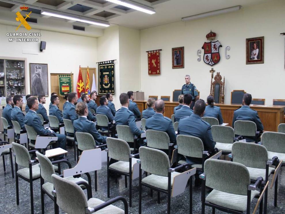Incorporación de los agentes que prestarán servicio en Zaragoza.