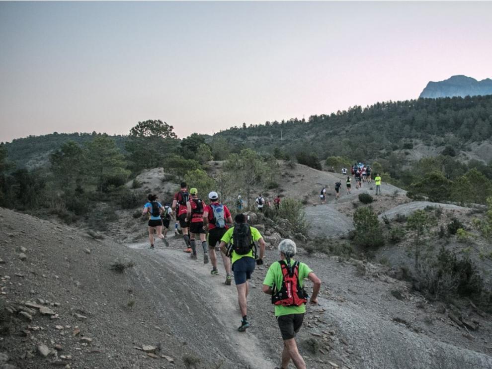 Imagen de la última edición del Gran Trail Sobrarbe.