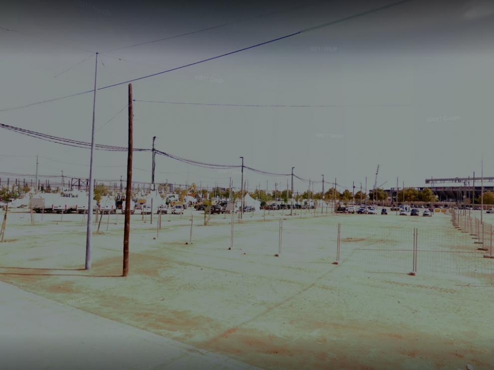 Los heridos estaban trabajando en el desmontaje en el Recinto Ferial de El Arenal, en Córdoba.