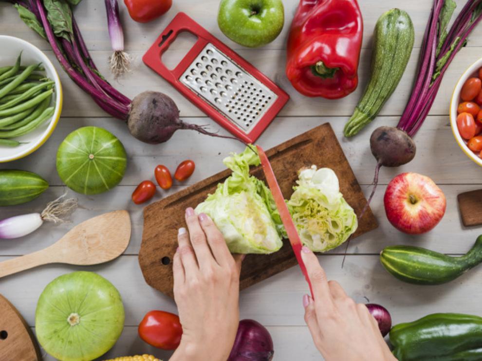 Durante el verano, algunas de las verduras y hortalizas aragonesas viven su mejor momento.