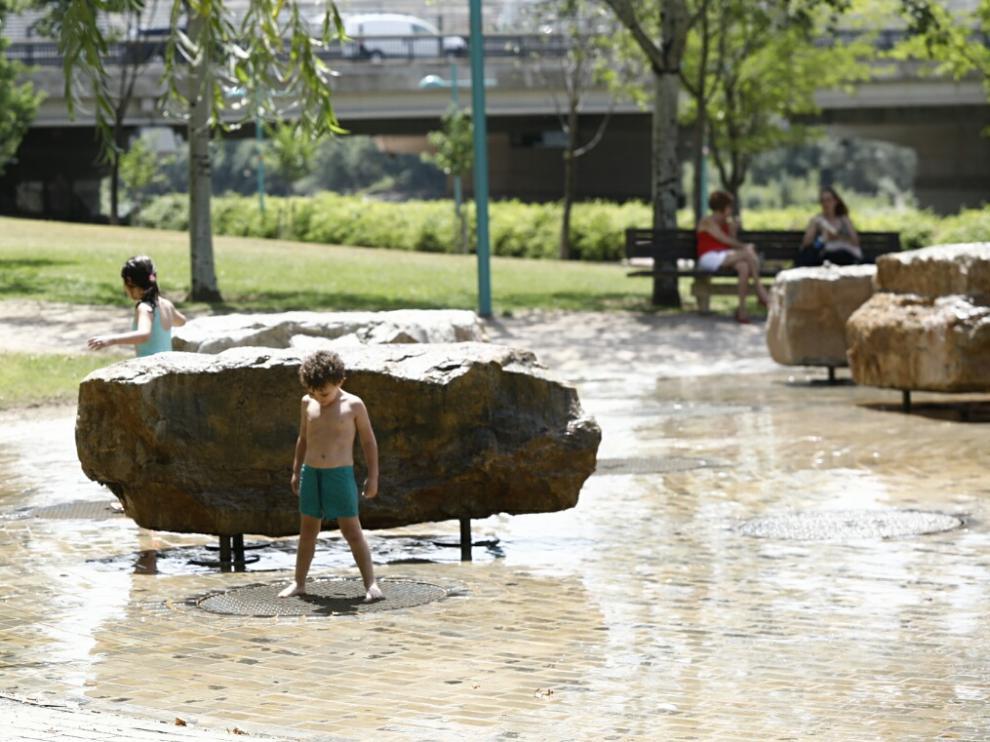 Las temperaturas continúan subiendo en Zaragoza