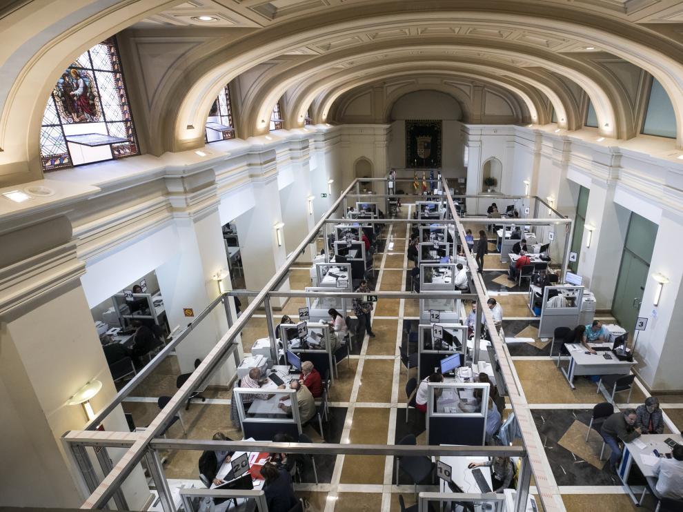 Oficinas de Hacienda para hacer la declaración de la Renta en Zaragoza.