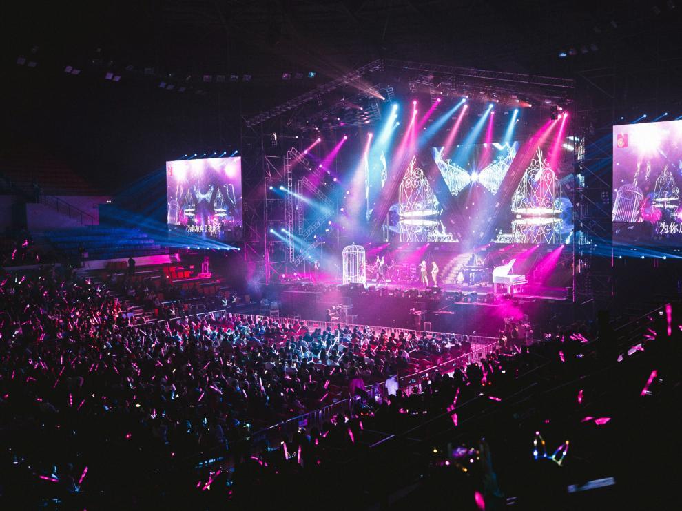 Actos multitudinarios como conciertos, espectáculos y festivales obligan a contar con una buena iluminación.