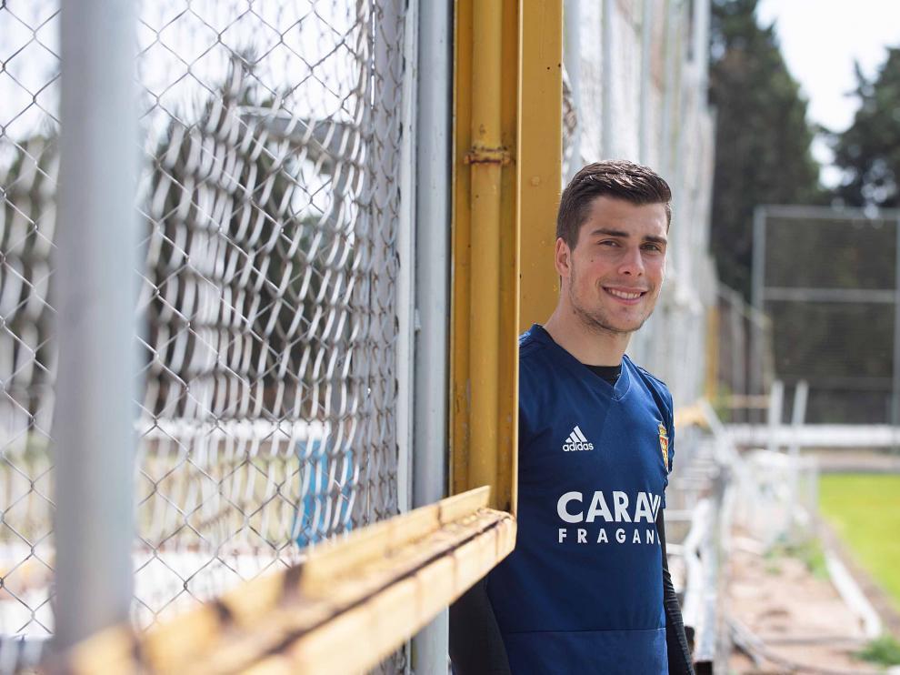 Alberto Soro, del Real Zaragoza