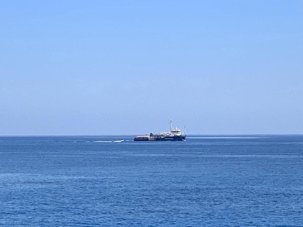 El barco de la ONG alemana 'Sea Watch'.