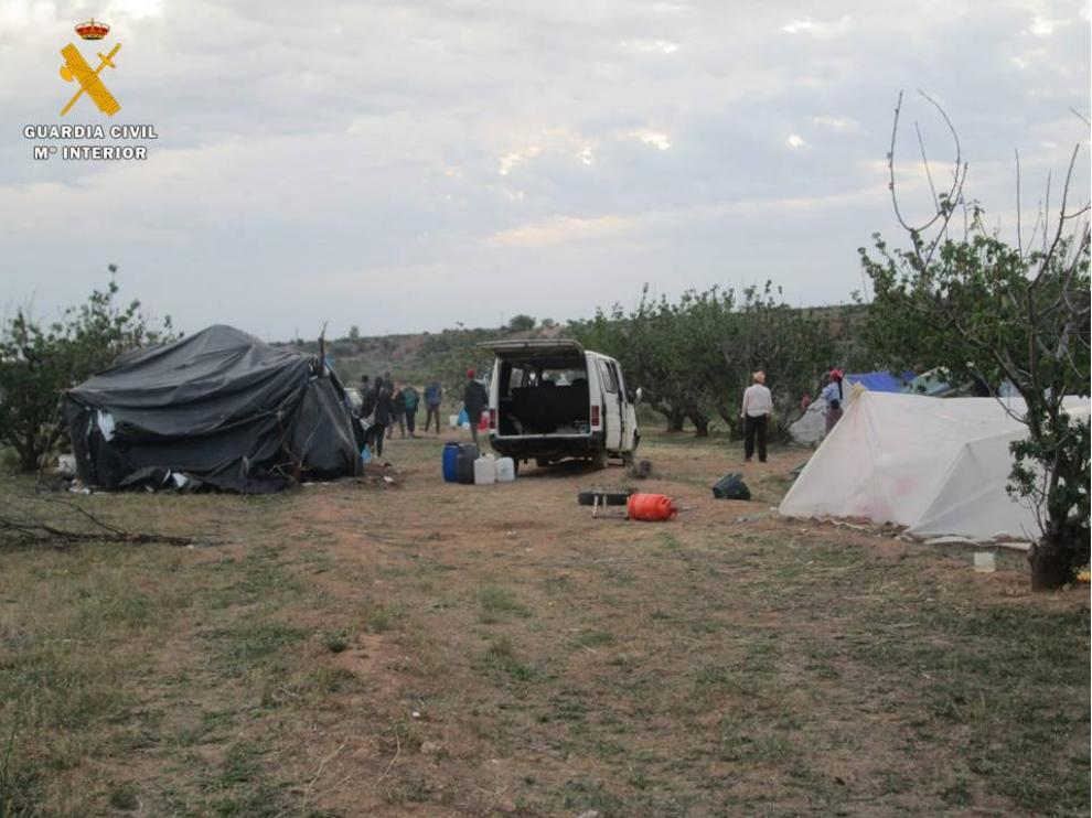 Dispositivo de prevención y seguridad durante la temporada de recogida de fruta en la Comarca de Valdejalón