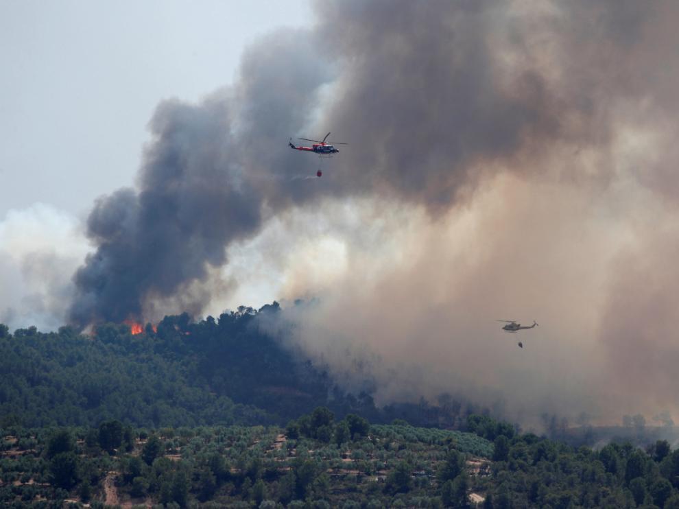 Incendio en Tarragona