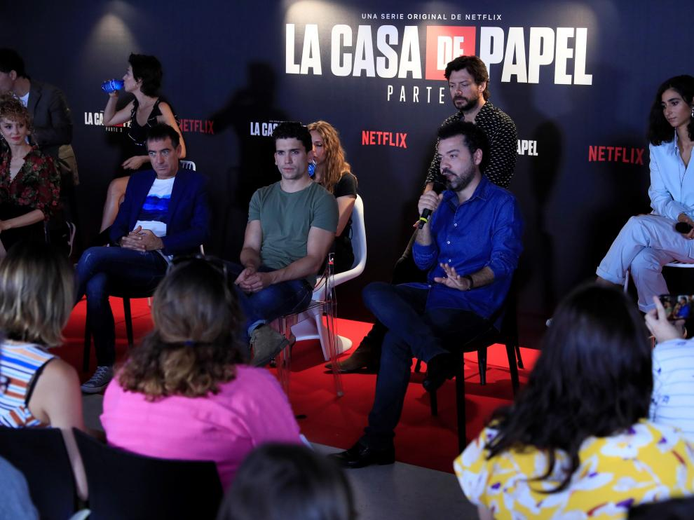 Presentación de la tercera entrega de la serie.