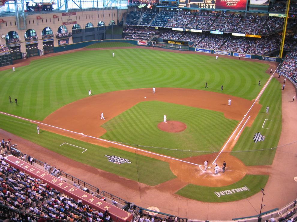El suceso tuvo lugar el pasado 29 de mayo en el Minute Maid Park, campo de los Astros de Houston.