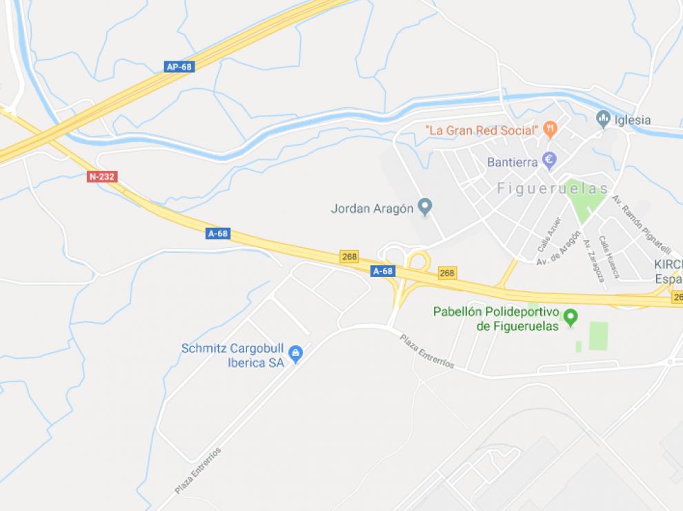 El accidente ocurrió en un tramo que se encuentra en obras, entre el punto kilométrico 268 y 269.