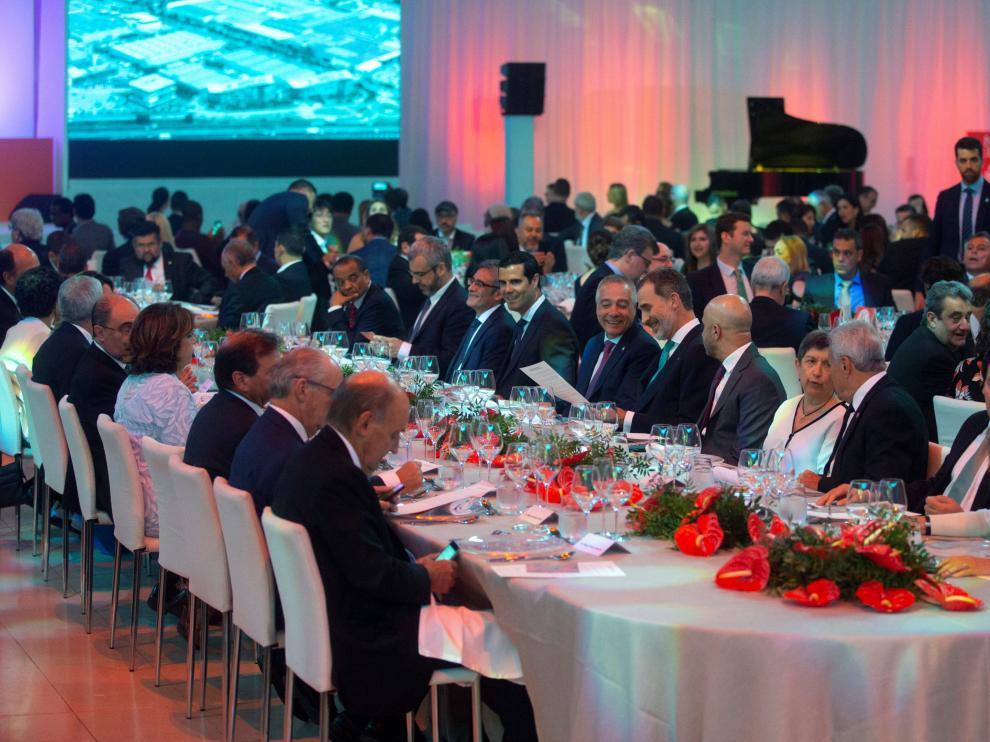 Cena de gala en el Museo de Arte Contemporáneo de Cataluña