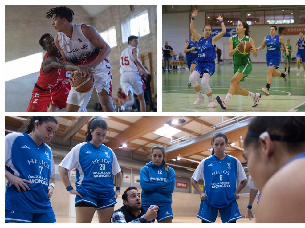 Helios, Stadium y Basket Zaragoza, entre los mejores de España