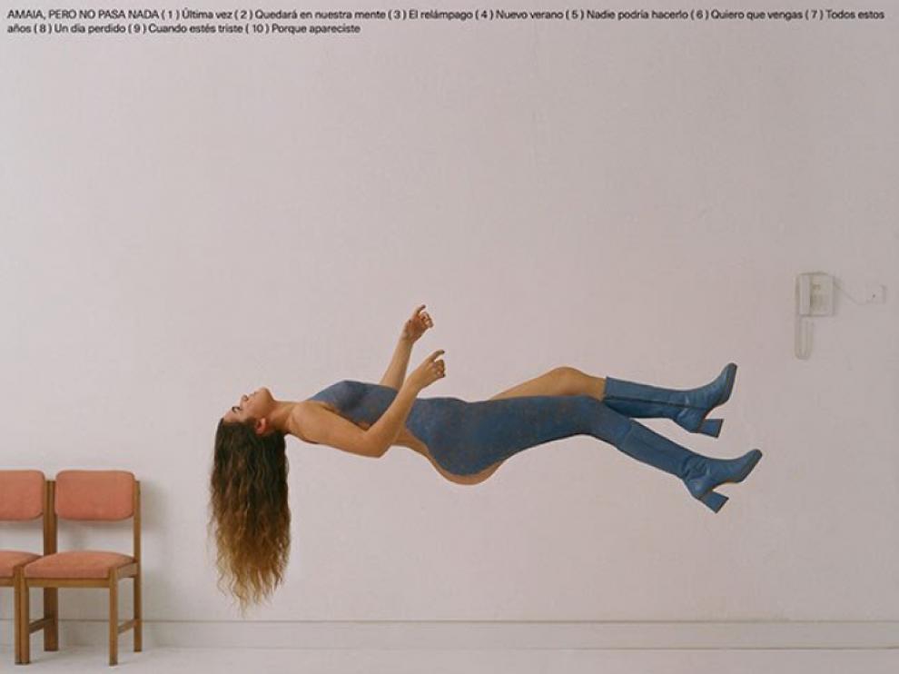 La portada del primer disco de Amaia.