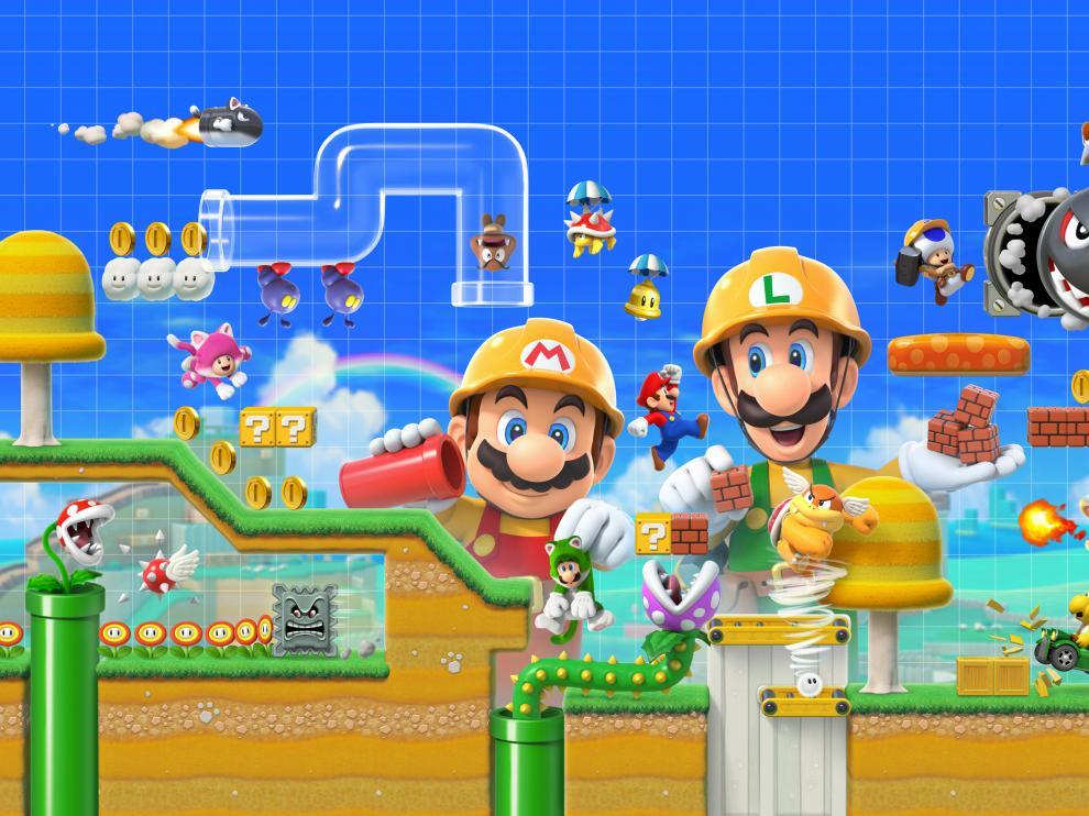 Super Mario Marker 2