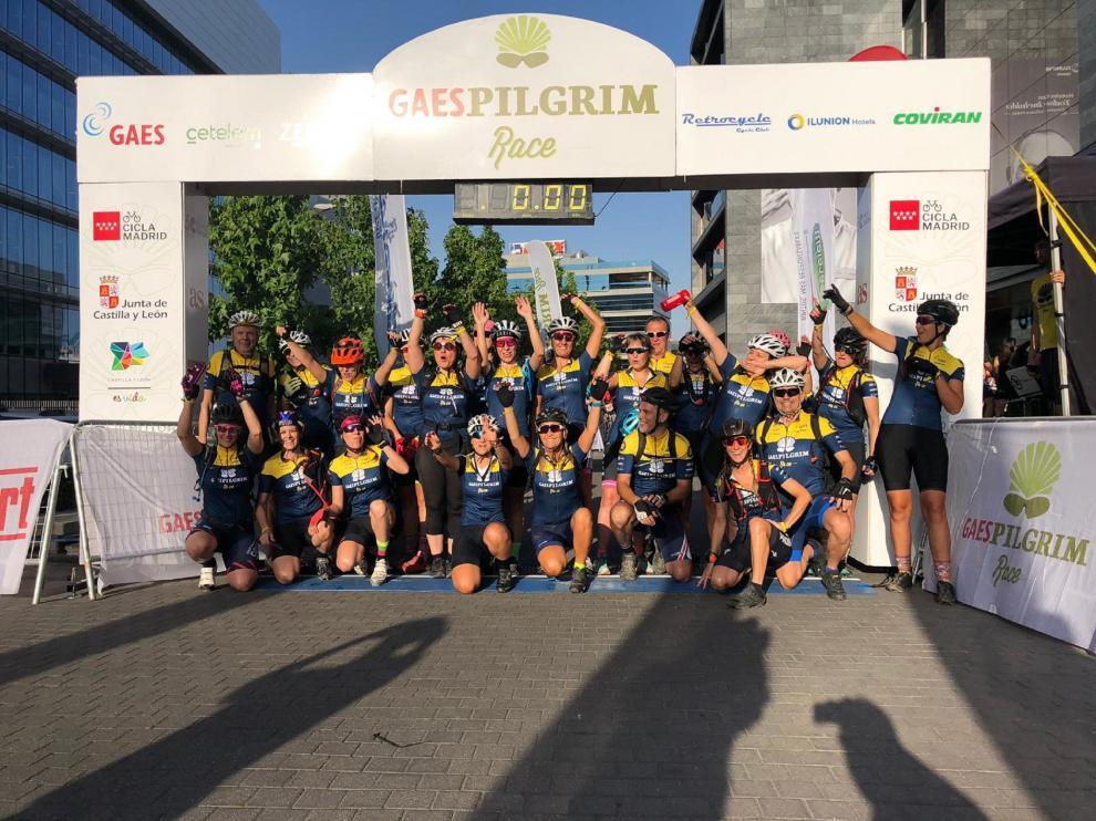 Arranca la Gaes Pilgrim Race, rumbo a Santiago de Compostela.