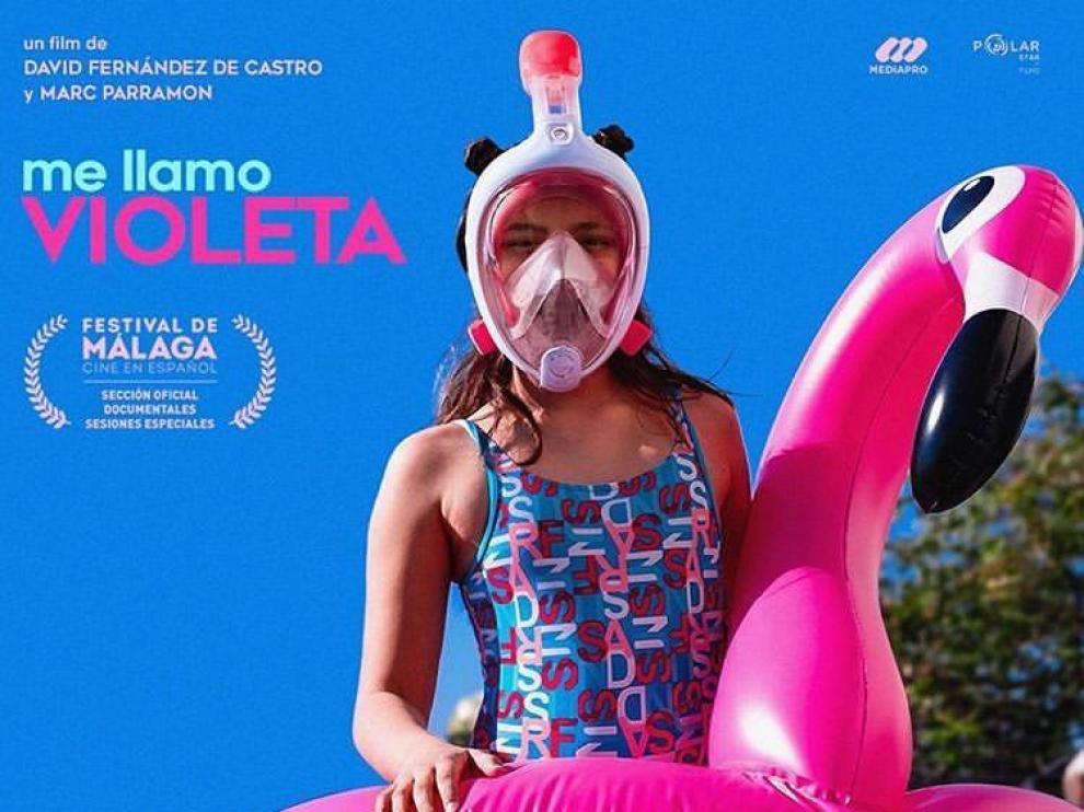 Cartel del documental 'Me llamo Violeta'.