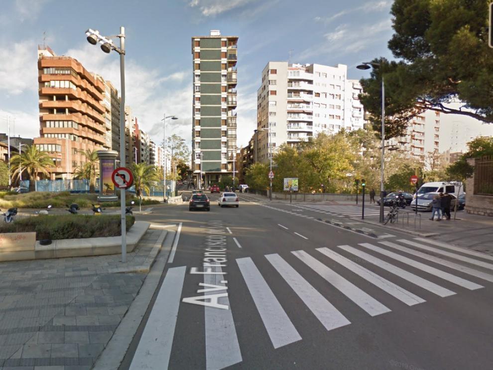 La avenida de Goya, a la altura de la calle Ruiz Anglada, será una de las zonas con obras.