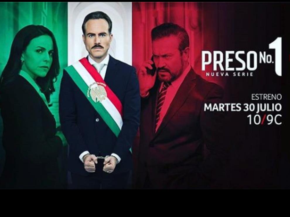 'Preso número uno' es una de las nuevas telenovelas enfocadas hacia la política que presenta Telemundo.