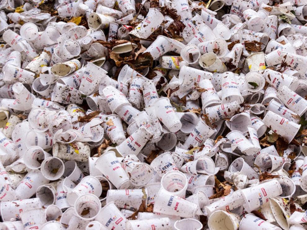 Los nanoplásticos liberados tras la degradación de un plástico biodegradable tiene efectos negativos en los organismos de los ecosistemas acuáticos