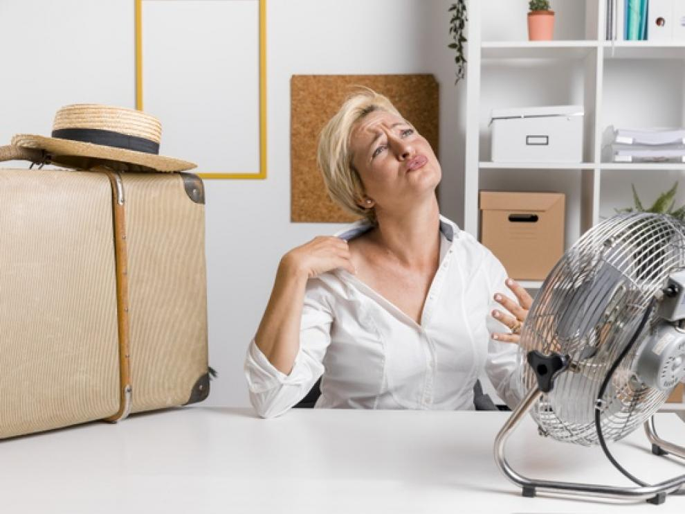 Durante las olas de calor, los ventiladores no siempre son efectivos.
