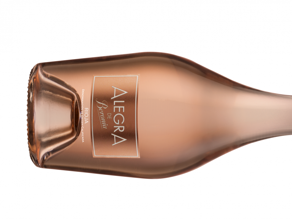 Botella de Alegra de Beronia.